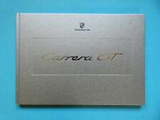 Prospekt / Buch / Katalog / Brochure Porsche Carrera GT  01/03  ENGLISCH