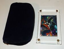 1992 Spiderman McFarlane Era Comic Images Hologram Card P-6 in Acrylic Ice Cube