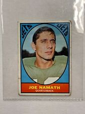 1967 Topps JOE NAMATH Card #98 Original Vintage Card