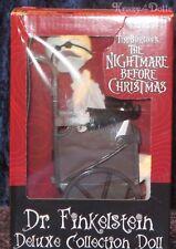 Disney le Nighmare antes de Navidad. Dr Finkelstein Deluxe Muñeca De Colección! nuevo!