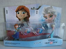 Disney Infinity Frozen playset Pack Anna Elsa Characters Set