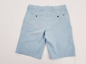 Mens hurley board shorts 32 designed for buckle NIKE DRI FIT LIGHT BLUE