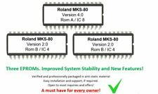 Roland MKS-80 - Revision 4.0 Includes CPU & Moduleboards Update Firmware for