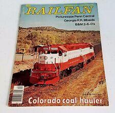 Railfan Magazine (Railfan & Railroad Magazine) Summer 1976 7th Issue Very Rare