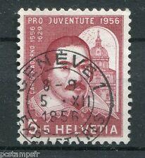 SUISSE SCHWEIZ 1956, timbre 581, C. MADERNO, CELEBRITE, CELEBRITY, oblitéré