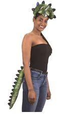 Triceratops Set - Dinosaur - Green - Costume Accessories - Adult Teen