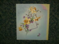 Vintage Unused Rust Craft Easter Card Ruth Jeaneret Artist For Sweetheart
