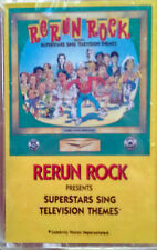 RERUN ROCK - SUPERSTARS SING TELEVISION THEMES - RHINO - CASSETTE TAPE - SEALED