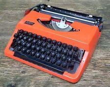 alte Schreibmaschine Reiseschreibmaschine brother 210 Nagoya Japan orange