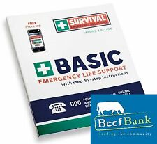 First Aid Kit (Basic Emergency Handbook) Charity Fundraising for BeefBank
