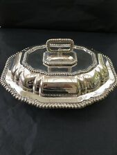 Walker & Hall Silver Plated Lidded Entree Dish 1904