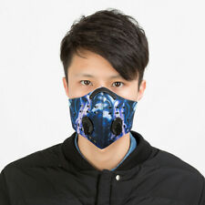 Cycling Half Face Shield Dust Motorcycle Mouth Cover Filter Pollen Allergy