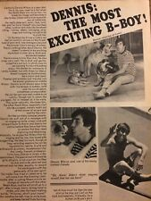 The Beach Boys, Dennis Wilson, Keith Allison, Double Full Page Vintage Clipping
