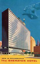 Sheraton Hotel Philadelphia Pennsylvania Vintage Postcard
