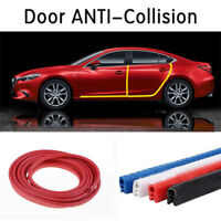 4.5M Red U-shape Car Door Rear Window Edge Protection Strip Seal Universal Decor