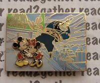 Disney Pin DSF Mickey Minnie Peg-leg Pete in the City LE 300