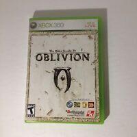 The Elder Scrolls IV: Oblivion (Microsoft Xbox 360, 2006) W/ Map Complete