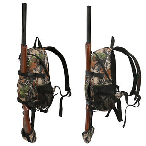 Outdoor Tactical Hunting Backpack with Bow Holder Rifle Hiking DayPack Hot Sale