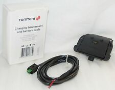 NEW TomTom RIDER 2 Motorcycle DOCK Mount + CABLE 2nd Edition bike GPS urban pro