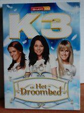 K3 EN HET DROOMBED    --  !!! DVD  !!!