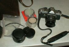 Vintage Asahi PENTAX MX, 35mm Camera 28-50mm Lenses-Bag-6 Filters-Book & MORE