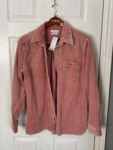 Urban Outfitters Mens Pink corduroy jacket - Medium