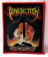BENEDICTION [SUBCONSCIOUS TERROR]  WOVEN PATCH