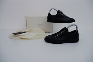 Dolce & Gabbana D&g Black Leather Sneakers Size 35 Uk 3  Shoes Trainers School