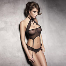 Spice Up Two Piece Mesh Set With Diamante Detailing|Sexy Lingerie|Bodies