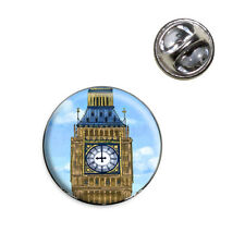 Big Ben Clock Tower London England Lapel Hat Tie Pin Tack