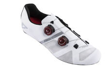 Time Osmos 15 Carbon Road Bike Shoes EU 45 US Men 11.5 White 3 Bolt Gravel BOA