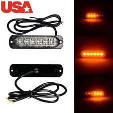 18W LED Car Emergency Warning Strobe Beacon Flashing Caution Flash Lamp Lights