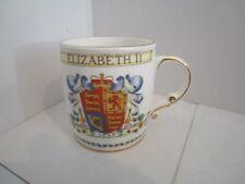 Queen Elizabeth II 1953 Coronation Mug - Foley China Co.  #2
