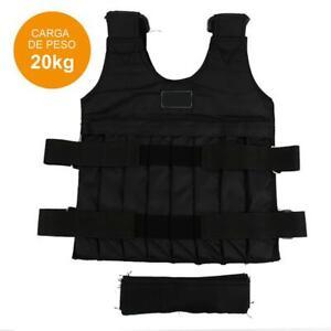 20 kg Einstellbare Gewichtsweste Jacke Boxtraining CS Field Weste NEU G