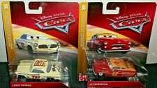 DISNEY PIXAR CARS 2019 DOC'S RACING DAYS LEROY HEMING & JET ROBINSON RARE! HTF!