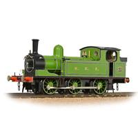 Bachmann 31-063 OO Gauge NER E1 Tank 2173 NER Lined Green