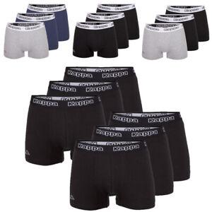 Kappa Herren Boxershorts, Unterhosen, Pants, Unterwäsche, Slip, 3er,6er Pack
