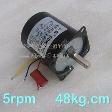 1PCS AC220V 14W 60KTYZ 5rpm 48kg.cm Eccentric Motor Gear Motor PMSM Motor