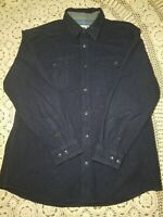 DAKOTA GRIZZLY Mens XX LARGE  Blue 2-Pocket Long Sleeve Button Up Flannel Shirt
