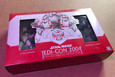 Star Wars Convention Exclusives Jedi Con 2004 Clone Trooper und Super B. Droid