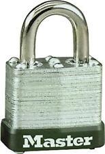 "New Master Lock 105D Laminated Steel Keyed Padlock 3/16"" X 1/2"" 6402689"