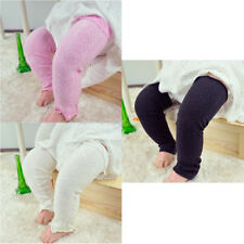 Baby Toddler Kid Solid Color Checks Long Leggings Socks Arm Leg Warmers