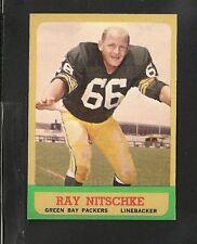 1963 Topps # 96 Ray Nitschke RC NM