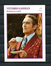 Starkarte Viottorio Gassman - Wir hatten uns so geliebt  1975   (ST5)