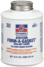 Permatex Shellac Aviation Gasket Sealant Dressing Oil Fuel Water pump sealant