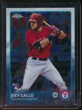 2015 Topps Chrome Joey Gallo SP RC #204 Rookie Card Short Print Texas Rangers