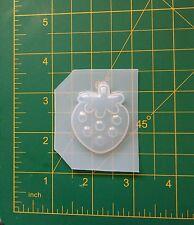 Kawaii Strawberry Flexible Plastic Resin Mold Polymer Clay Cabochon Decoden
