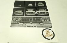1964 ? DATSUN  Sales Brochure FAIRLADY SPORTS Patrol Pickup Cedric