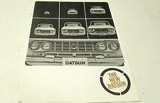 1964 ? DATSUN  Sales Brochure FAIRLADY SPORTS Patrol Pickup Cedric