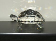 "Swarovski Crystal Figurine ""Giant Turtle"" w/Case & Box / No Coa / 010101"